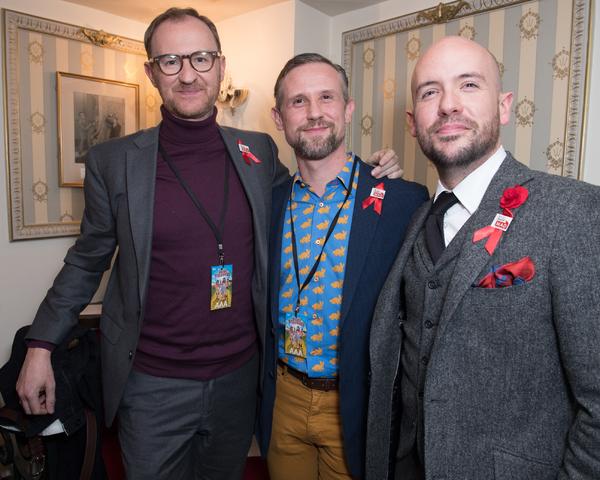 Mark Gatiss, Ian Hallard and Tom Allen