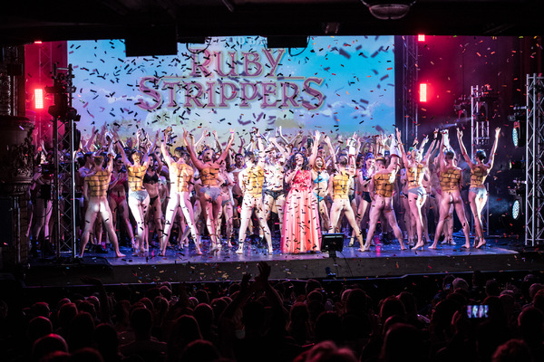 Photos: Graham Norton and the WEST END BARES Company Raise Over £50,000 in 'RUBY STRIPPERS'