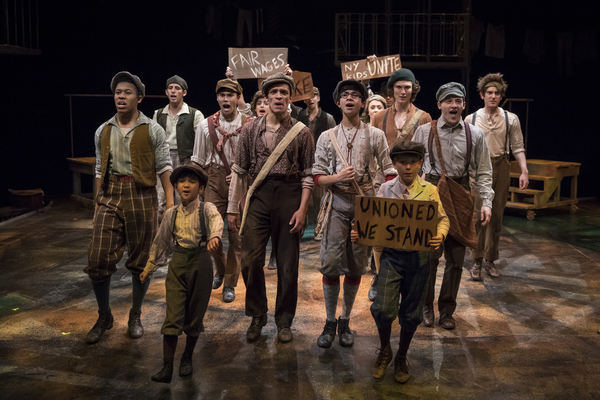 Photos: Seize the Day! First Look at Patrick Rooney, Eliza Palasz and More in NEWSIES at The Marriott Theatre
