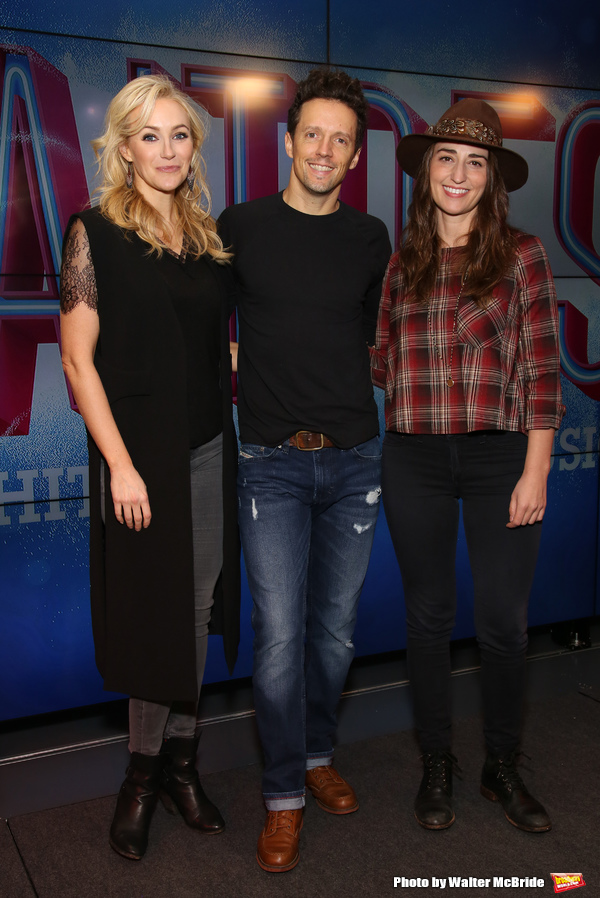 Photo Coverage: Jason Mraz Gets Tuned Up for His Broadway Debut in WAITRESS!
