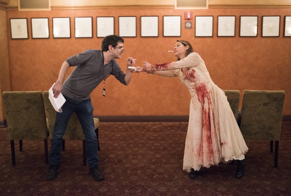 Jonathan Marc Sherman and Elizabeth Rodriguez