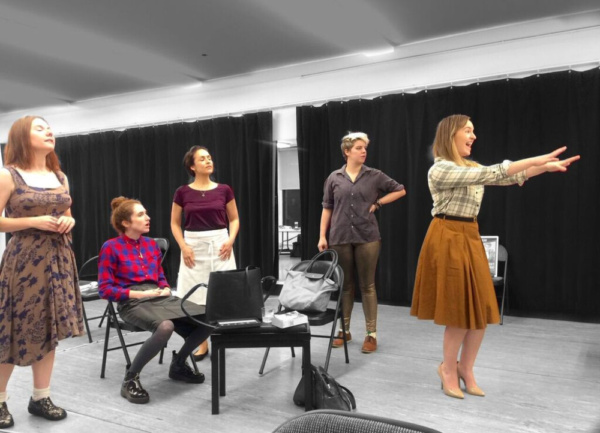 Photo Flash: In Rehearsal for Regeneration's 'COME BACK TO THE FIVE AND DIME' at The Workshop Theatre