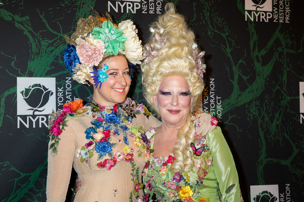 Photo Coverage: HELLO, DOLLY! Cast Dresses Up for Bette Midler's Hulaween!
