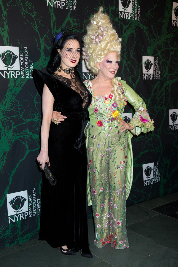 Dita Von Teese, Bette Midler Photo