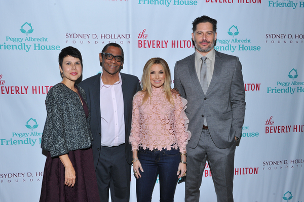 Monica Phillips, Harold Owens, Eden Sassoon and Joe Manganiello