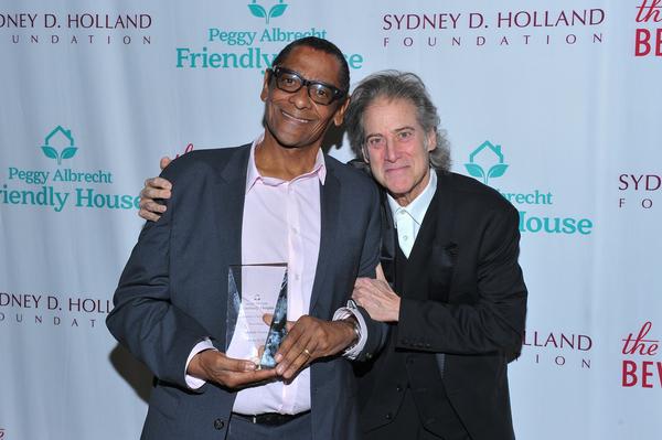 Harold Owens and Richard Lewis  Photo