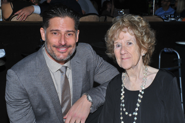 Joe Manganiello and Peggy Albrecht