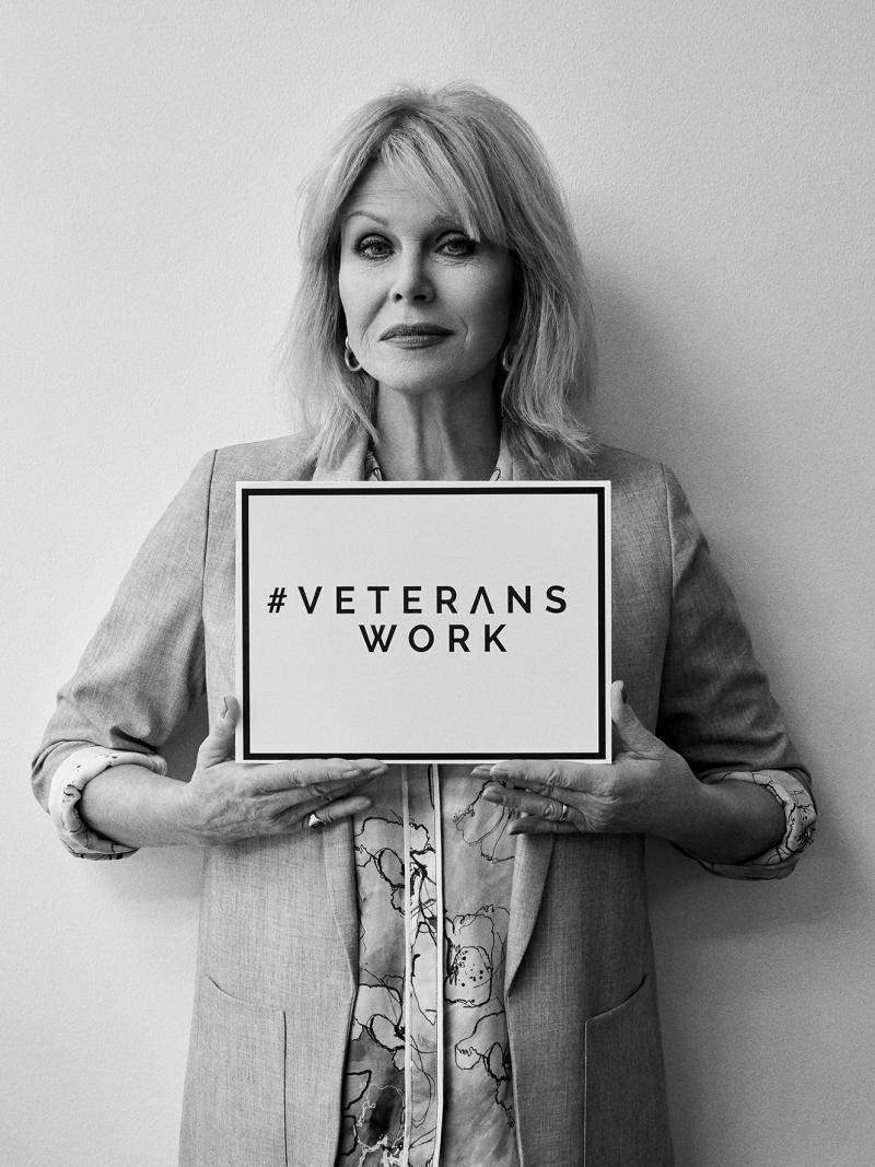 Ray Winstone, Joanna Lumley, and More Join Veterans and Business Leaders to Raise Awareness for Veterans Work Campaign
