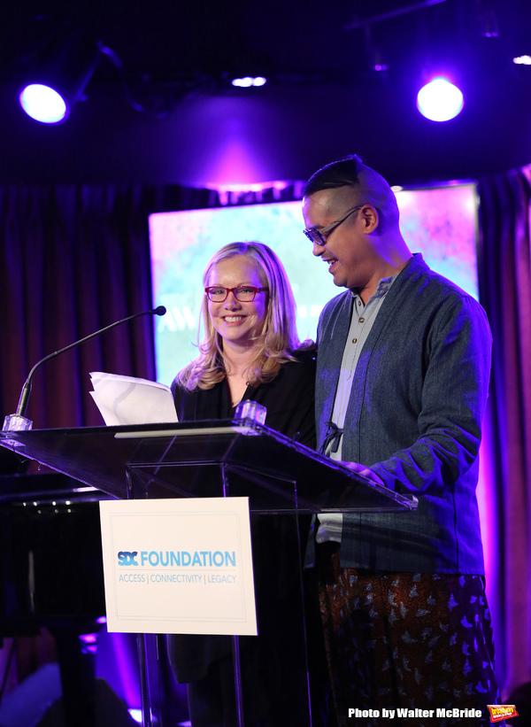Susan Stroman and Ed Sylvanus Iskandar