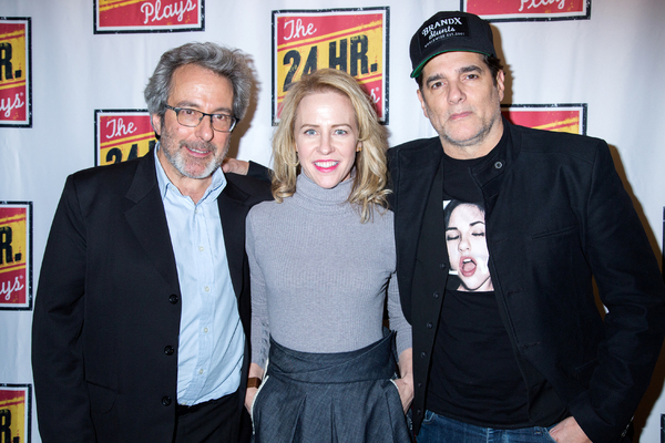 Warren Leight, Amy Hargreaves, Yul Vazquez Photo