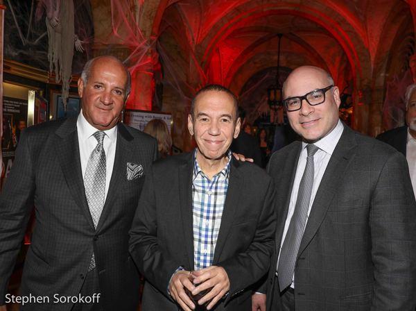Rinaldo Nistico, Gilbert Gottfried, Michael Gyure, Executive Director Friars Club