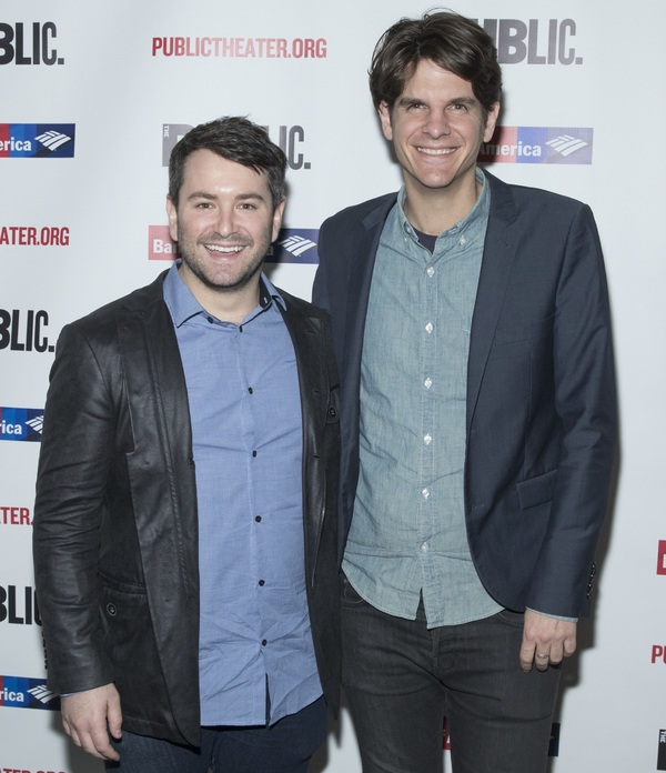 Alex Brightman and Alex Timbers