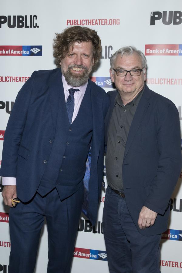 Oskar Eustis and Richard Nelson