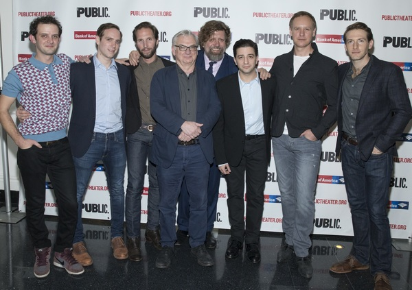 Will Brill, Max Woertendyke, Blake DeLong, and  Richard Nelson, Oskar Eustis, John Ma Photo
