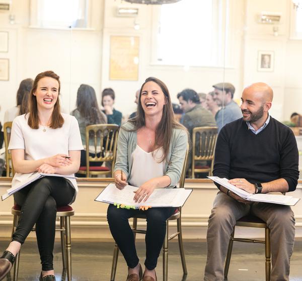 Anna O'Byrne, Carolyn Maitland, and Greg Castiglioni