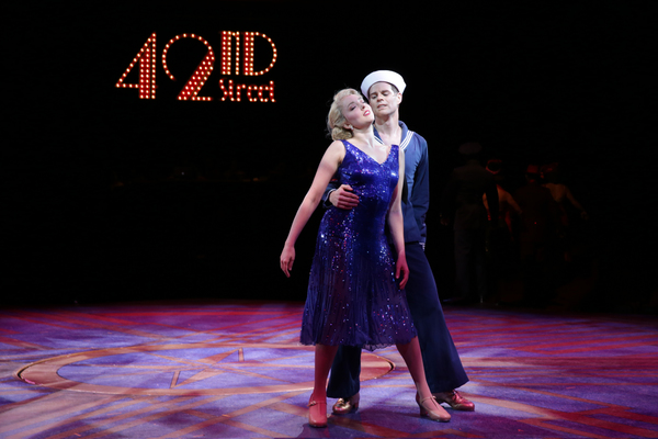 Photo Flash: First Look at Tari Kelly, Burke Moses, Jessica Wockenfuss and More in 42ND STREET at North Shore Music Theatre
