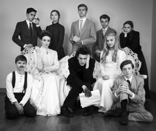Photo Flash: Outcry Youth Theatre Reveals Intimate Portraits Of The Characters Of THE SEAGULL