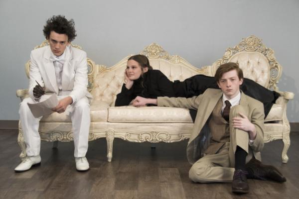 Bryce Lederer, Olivia Hankins, and Harrison Polen