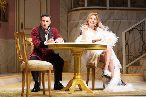 Dominic Comperatore and Andrea Burns