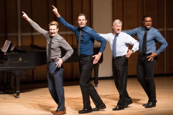 Daniel Plimpton, Michael Halling, David Garrison and Shavey Brown