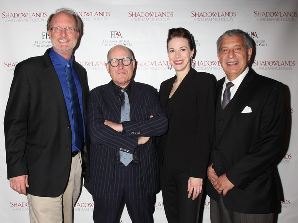 Photo Flash: Playwright William Nicholson and More Celebrate FPA's SHADOWLANDS Opening Off-Broadway
