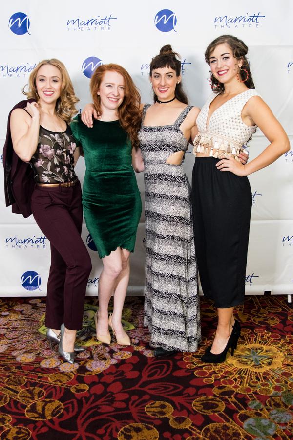 Laura Savage, Tiffany Tatreau, Adrienne Storrs, Eliza Palasz