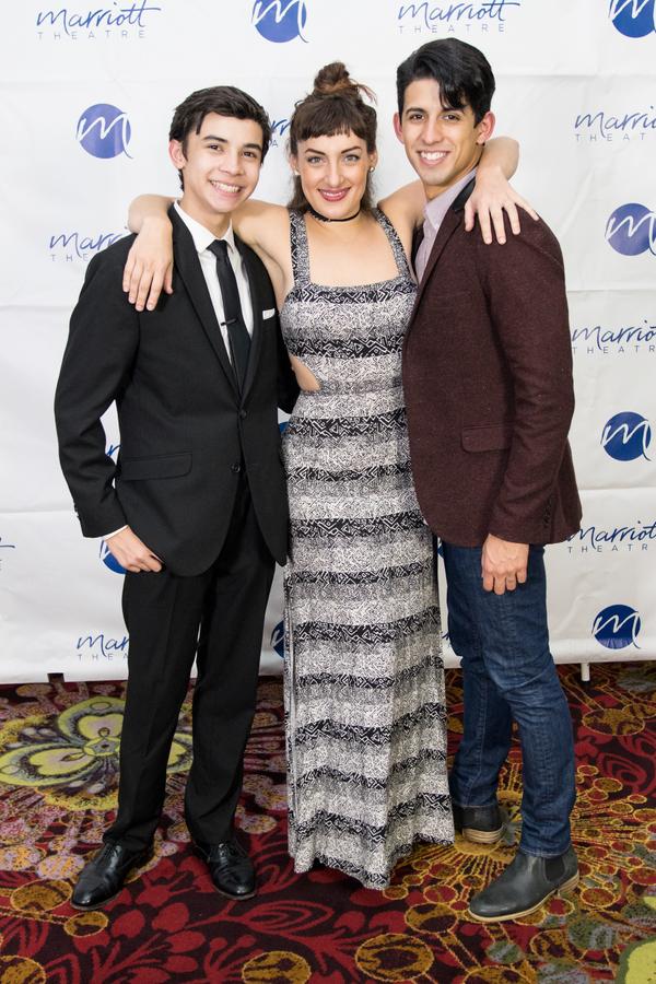 Nicholas Dantes, Adrienne Storrs, David Wright Photo