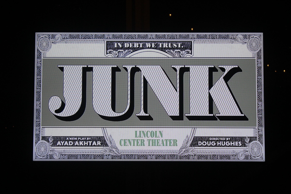 Welcome to the opening night party for the Lincoln Center Theater Production of JUNK!