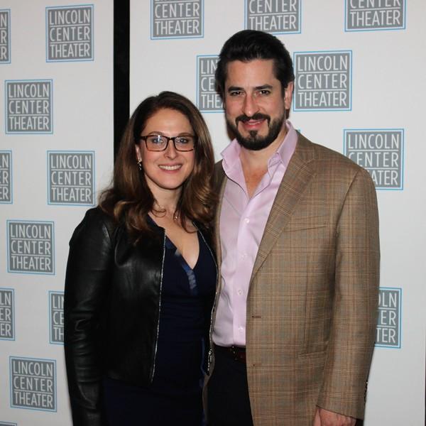 Sarna Lapine and Matthew Saldivar