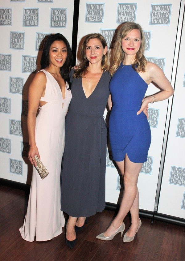 Teresa Avia Lim, Miriam Silverman and Caroline Hewitt
