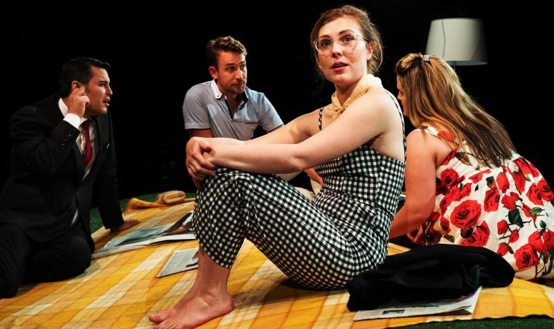 BWW REVIEW: A Decade later, SHE RODE HORSES LIKE THE STOCK EXCHANGE Looks At A Different Side Of The Global Financial Crisis