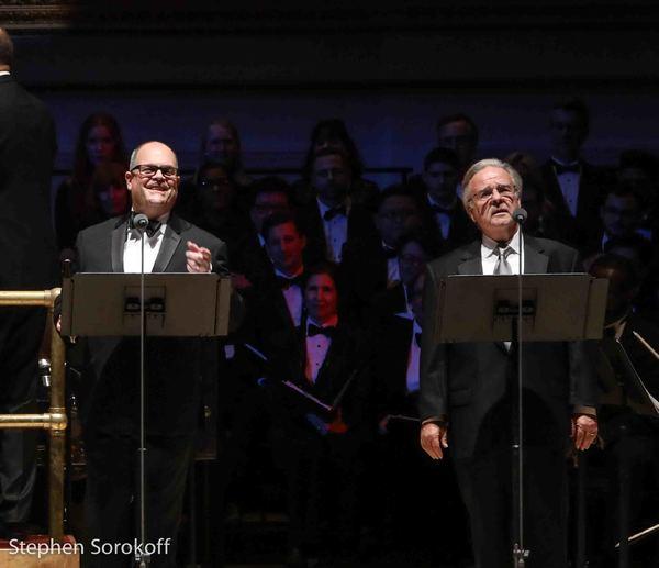 Brad Oscar & Fred Applegate