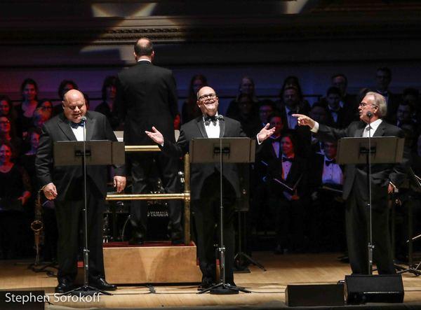 Kevin Chamberlin, Brad Oscar, Fred Applegate