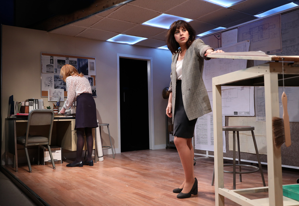 Photo Flash: First Look at Skylar Astin, Marg Helgenberger, Krysta Rodriguez and More in WHAT WE'RE UP AGAINST Off-Broadway