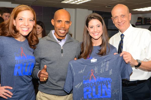 Photo Flash: Marathoner Meb Keflezighi Inspires BC/EFA's Broadway Run Team