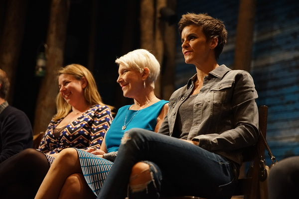 Irene Sankoff, Beverley Bass and Jenn Colella