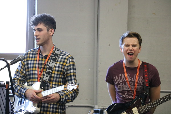 Photo Flash: In Rehearsal for SLEEPING BEAUTY - THE ROCK N ROLL PANTO at Theatr Clwyd