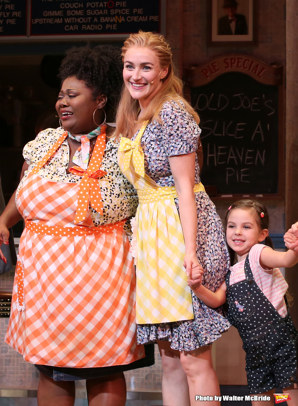Maia Nkenge Wilson, Betsy Wolfe,  and Victoria Collett