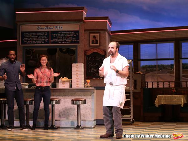 Photo Coverage: It's Amazing What Baking Can Do! Jason Mraz and David Josefsberg Open Up at WAITRESS