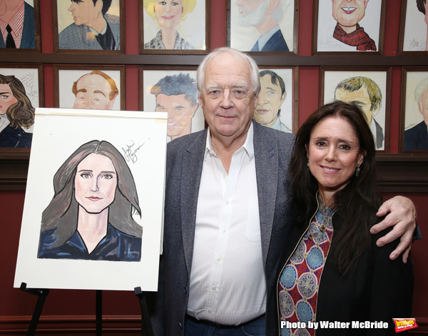 Tim Rice and Julie Taymor