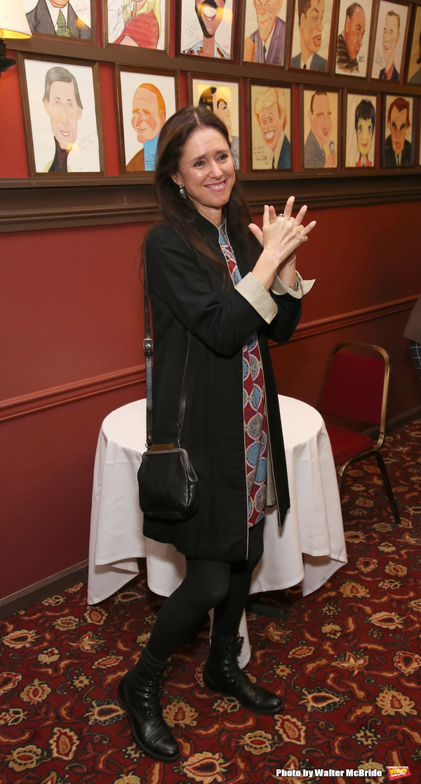 Photo Coverage: Julie Taymor Celebrates Sardi's Caricature Unveiling