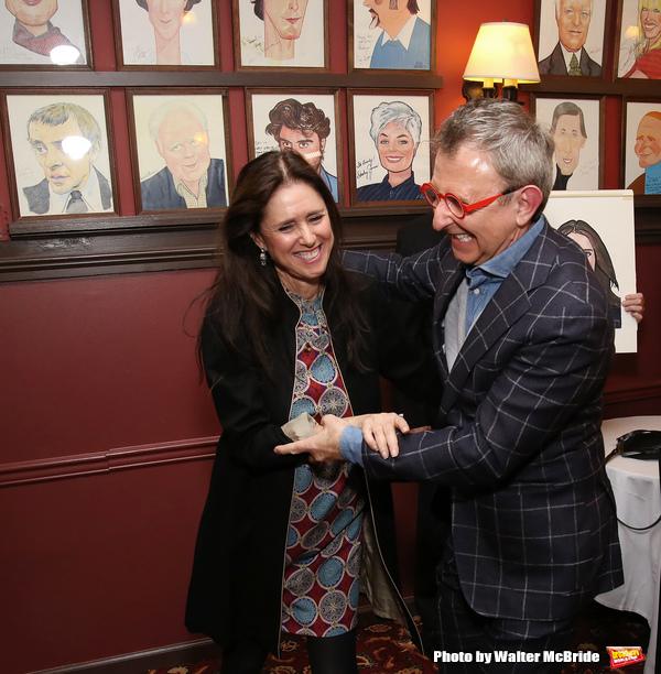 Photos: Julie Taymor Celebrates Sardi's Caricature Unveiling