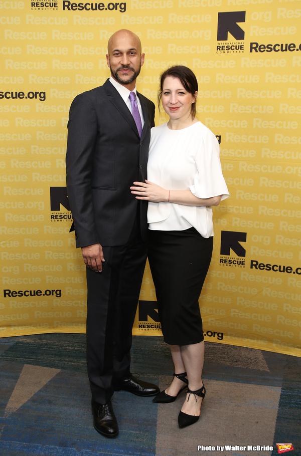 Keegan-Michael Key and Producer Elisa Pugliese