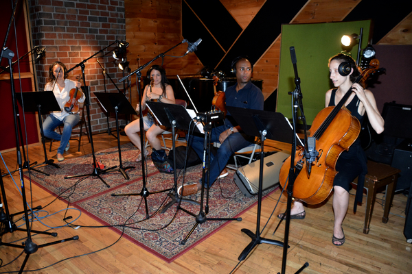Philip Payton, Kiku Enomoto, Suzy Perelman and Allison Seidner Photo