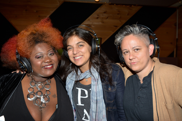 Maia NKenge Wilson, Nadia DiGiallonardo and Meghan Toohey