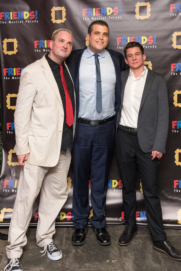 Photo Flash: They're All There For You! FRIENDS! THE MUSICAL PARODY Opens Off-Broadway