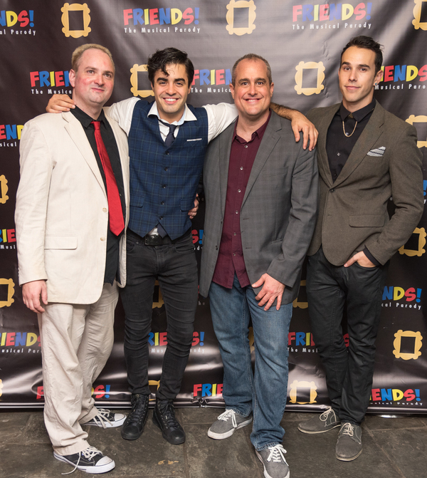 Bob McSmith, Alan Trinca, Seth Blum, Landon Zwick Photo