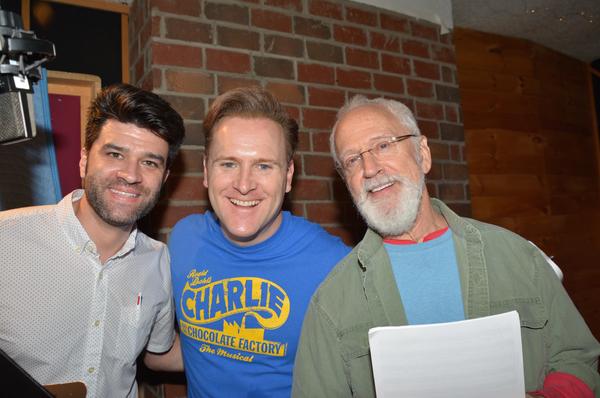 Ben Crawford, Jared Bradshaw and John Rubenstein