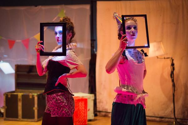 Photo Flash: Guerilla Opera's CHRONONHOTONTHOLOGOS Makes World Premiere