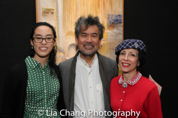 Photo Flash: David Henry Hwang Presents 2017 Kesselring Prize To Lauren Yee At National Arts Club